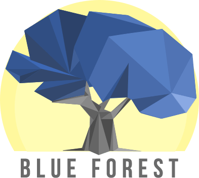 Blue Forest Label Logo