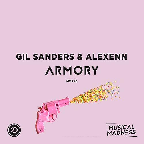 Gil Sanders & Alexenn - Armory Artwork