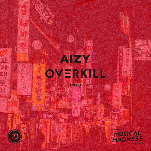Aizy - Overkill Artwork
