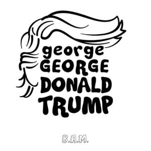 georgeGeorge - Donald Trump Artwork