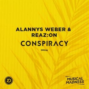 Alannys Weber & Reaz:on - Conspiracy Artwork